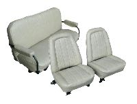 1969, 1970, 1971, 1972 GMC Jimmy Front Bucket Seats; Rear Bench Seat Upholstery Complete Set