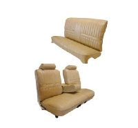 1971, 1972 Chevrolet Malibu 2 Door, Front and Rear Bench Seat Seat Upholstery Complete Set