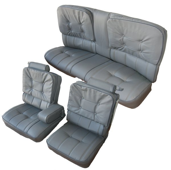 81-88 Buick Regal Seat Upholstery Complete Set 2 Door, G-Body 60/40 Front  and Rear Bench