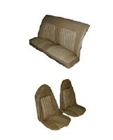 73 77 Olds 442 Seat Upholstery Complete Set Front Swivel
