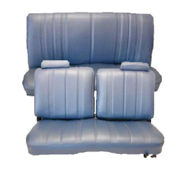 78 82 Chevy Malibu Seat Upholstery Complete Set 2 Door