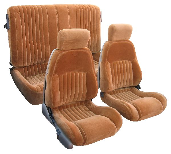 Hyundai Customer Service >> 93-02 Pontiac Trans Am Seat Upholstery Complete Set Front Bucket Seats With Plastic Back; Solid ...