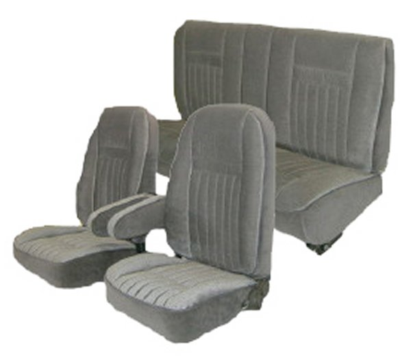 87 91 Ford Bronco Full Size Seat Upholstery Complete Set