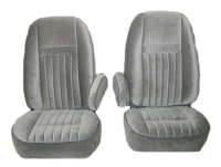 1987-1991 Ford Full Size Truck, Standard Cab F150, Front Buckets Seat Upholstery Front Seats