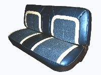 1973-1979 Ford Full Size Truck, Standard Cab Bench Seat; High End Seat Upholstery Front Seats