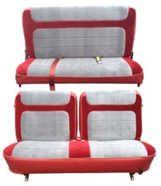 80 86 Ford Bronco Full Size Seat Upholstery Complete Set
