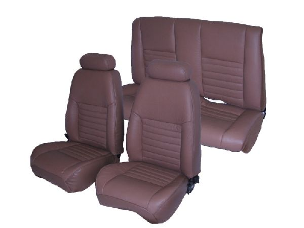 Ford mustang seat upholstery complete set front