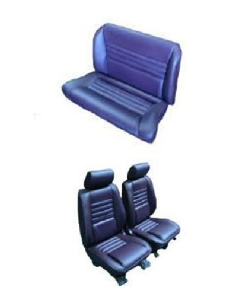87-95 Chrysler LeBaron Seat Upholstery Complete Set Front