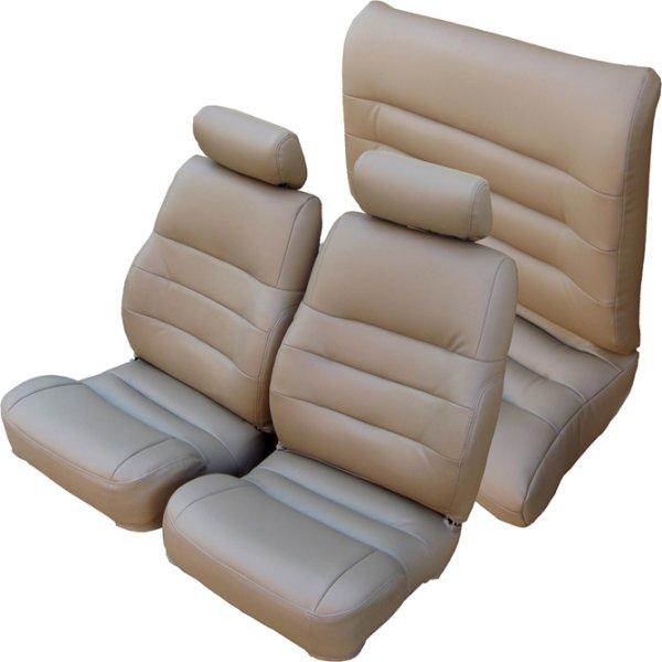 87-95 Chrysler LeBaron Seat Upholstery Complete Set Front