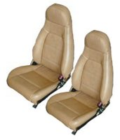1996, 1997 Mazda Miata Bucket Seats; With Speakers in Head Rests Seat Upholstery Front Seats