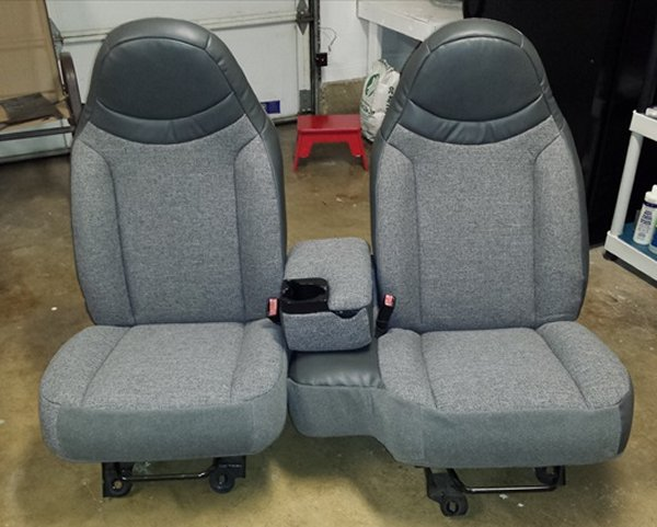 98 02 Ford Ranger Regular Cab Seat Upholstery Front