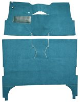 1957 Chevrolet Bel-Air 4 Door Sedan Bucket Seats Carpet Cut and Sewn Carpet