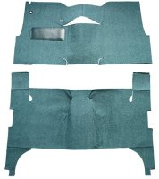 1957 Chevrolet Bel-Air 4 Door Sedan Bench Seat Carpet Cut and Sewn Carpet