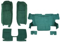 2005-2013 Chevrolet Corvette Convertible Complete Kit Molded Carpet