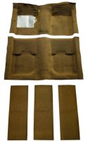 1969, 1970 Ford Mustang Fastback Kit, With Folddowns Molded Carpet