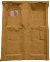1974, 1975, 1976, 1977 Mercury Comet 4 Door Molded Carpet