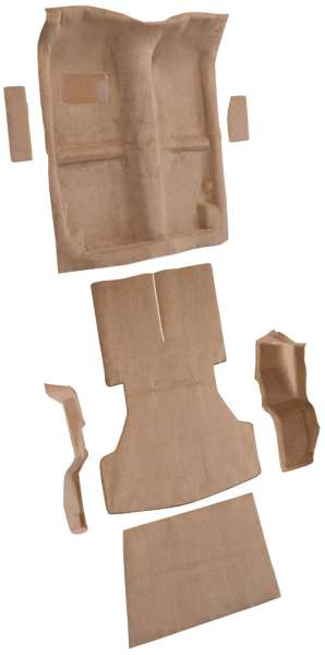 1987-1989 Chrysler Conquest Carpet