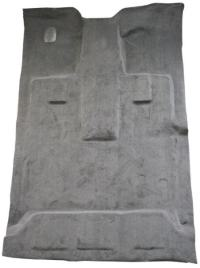 2009-2014 Ford Full Size Truck, 4 Door Crew Cab F150 Molded Carpet