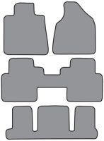 2007-2010 GMC Acadia Carpet