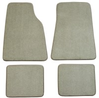 70 oz Black Coverking Front and Rear Floor Mats for Select Crown Victoria Models Carpet CFMBX1FD9664