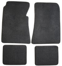 1955, 1956 Ford Fairlane Sunliner  Floor Mats, Set of 4 - Front and back