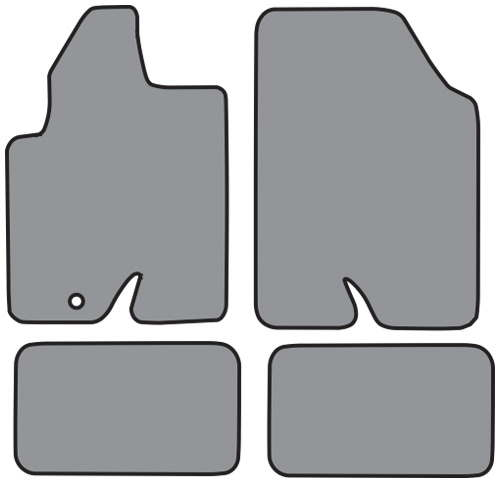 2008 2012 ford escape floor mats set of 4 2008 2009. Black Bedroom Furniture Sets. Home Design Ideas
