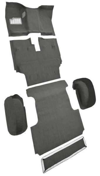 1986-1987 Toyota Land Cruiser Carpet
